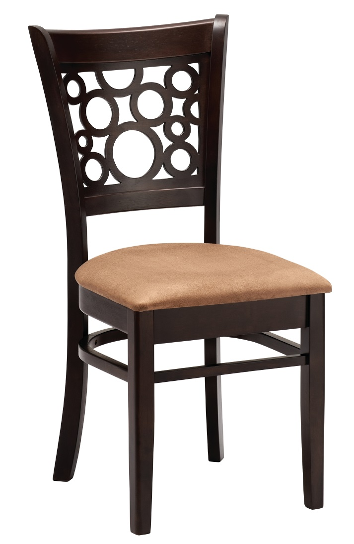 restaurant stuhl hanna gastronomie hotel bistro st hle m bel braun rot massiv ebay. Black Bedroom Furniture Sets. Home Design Ideas