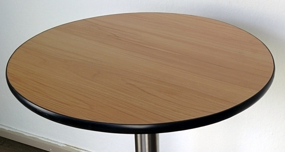 tischplatte 60cm rund hell tisch platten d60 cm ebay. Black Bedroom Furniture Sets. Home Design Ideas